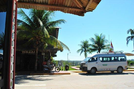 Wasai Maldonado Eco Lodge: Entrada al hotal