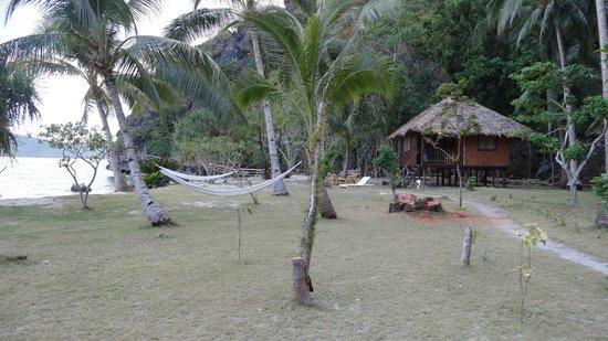 Sangat Island Dive Resort : Amache in spiaggia