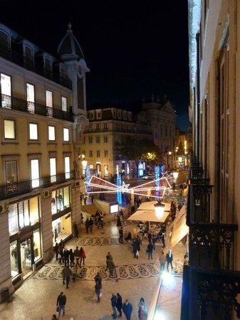 Hotel Borges Chiado: Zimmeraussicht