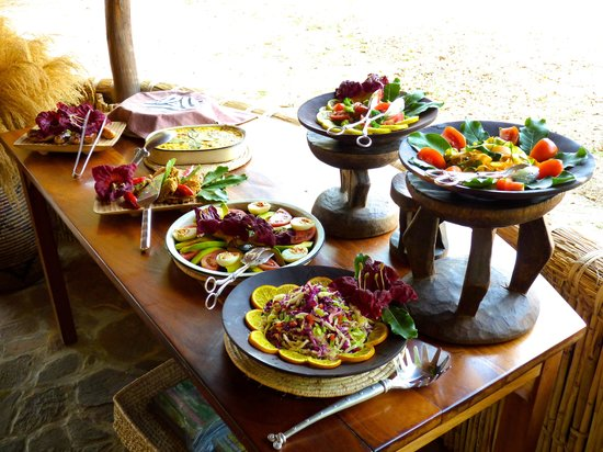 Kuyenda Bushcamp - The Bushcamp Company: Amazing food