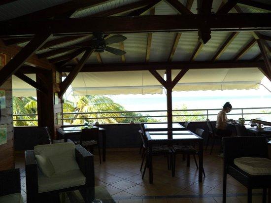Le Mabouya : aperçu salle du resto