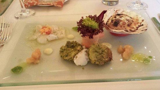 Rheinfelden, Tyskland: Menüvorspeise