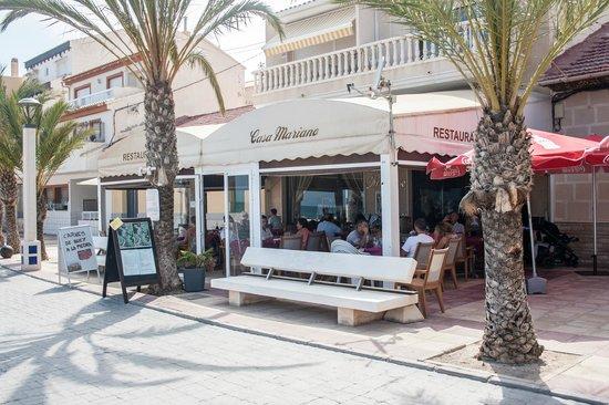 Exterior terraza obr zek za zen restaurante casa for Restaurante casa america terraza