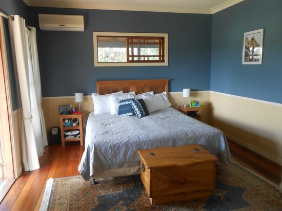 Eumundi Gridley Homestead B&B: The Blue Room