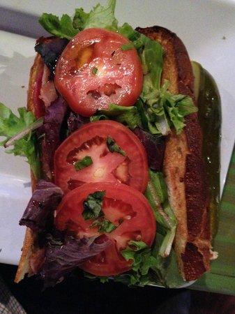 Mellow Mushroom: Italian sandwich