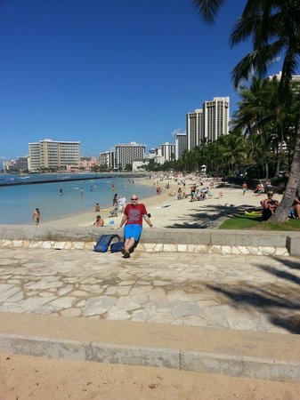 OHANA Waikiki East Hotel: On a clear day you can see ...... ;)