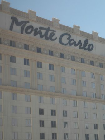 Monte Carlo Resort & Casino: Taken from our hotel room