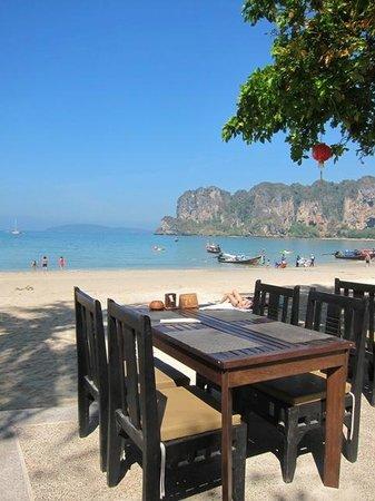 Railay Bay Resort & Spa: restauracja z fantastycznym widokiem