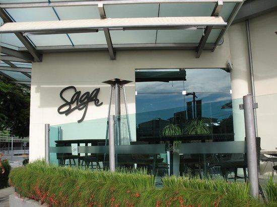 Restaurante Saga: entrance to restaurant