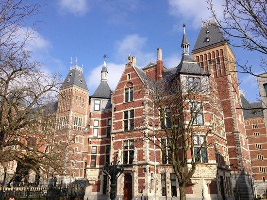 Rijksmuseum Amsterdam: exterior