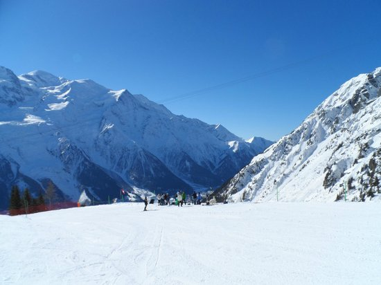 La Sapiniere : beautiful skiing