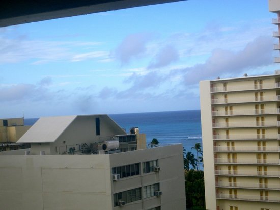 Hyatt Place Waikiki Beach: one view from the room