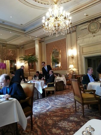 Le Cinq: View from the table
