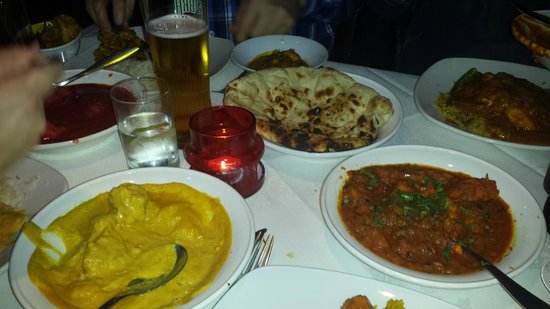 Indian Sizzler: mains