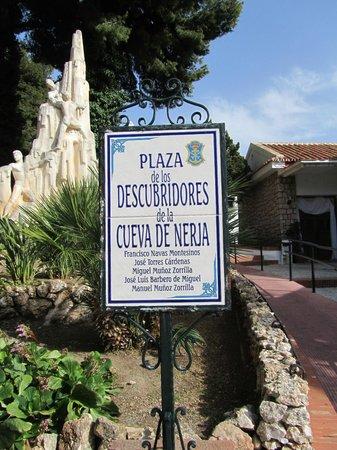 Cueva de Nerja: het plein voor de entree
