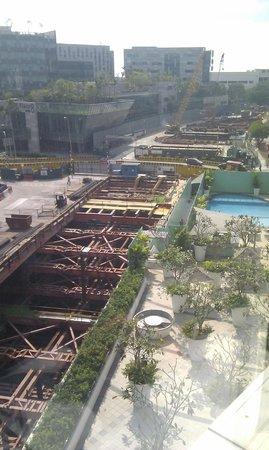 Capri by Fraser Changi City : Building site