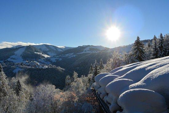 Les Balcons du Mont-Blanc - Vacances ULVF: Vue de la chambre