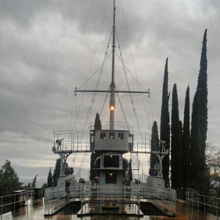 Il Vittoriale degli Italiani: nave