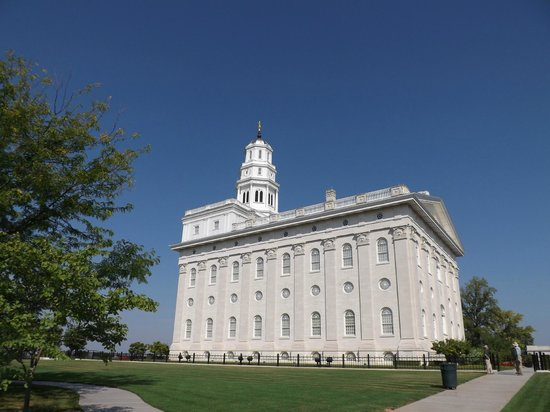 The Woodruff Hotel: Nauvoo Temple (view from room)