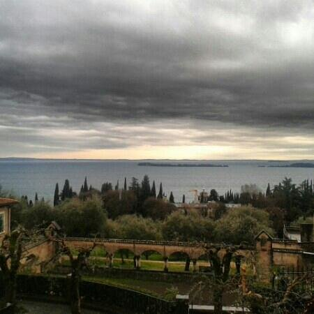 Il Vittoriale degli Italiani: vista lago