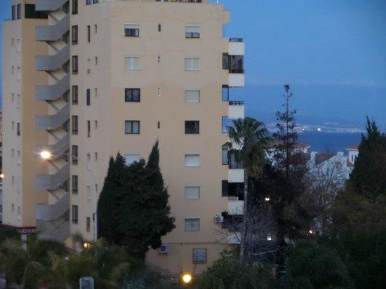 Arcos de Montemar: Vue depuis la terrasse sur la mer