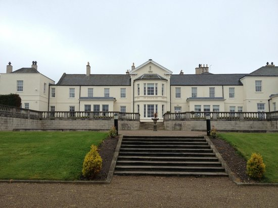 Seaham Hall: Rear grounds
