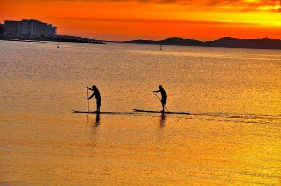Intertur Hotel Hawaii Ibiza : puesta de sol