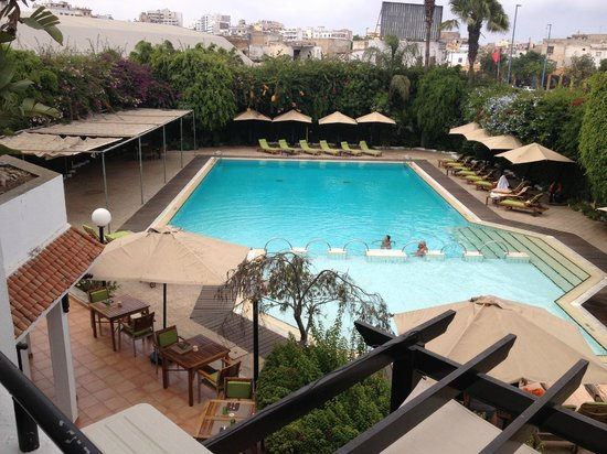Hyatt Regency Casablanca: View from room