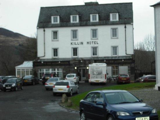 Killin Hotel: The Hotel (Sorry for the quality of photo, it was a cold day)
