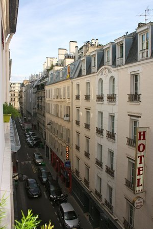 Hotel Amelie: This is a picture from our room.