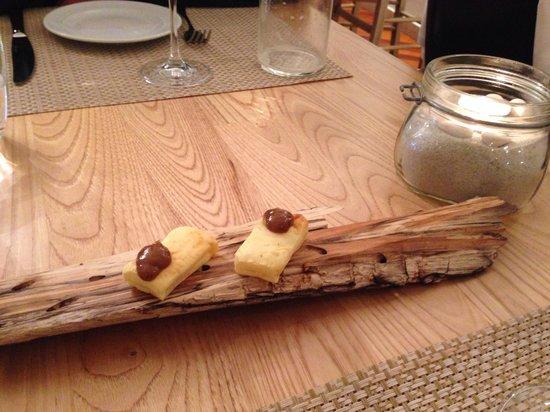 Ristorante Abocar Due Cucine: Pane al formaggio