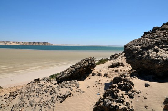 Dakhla Spirit Lagoon Camp : plage