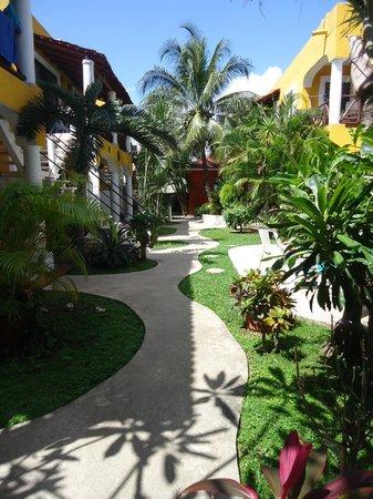 El Acuario Hotel: Hotel grounds