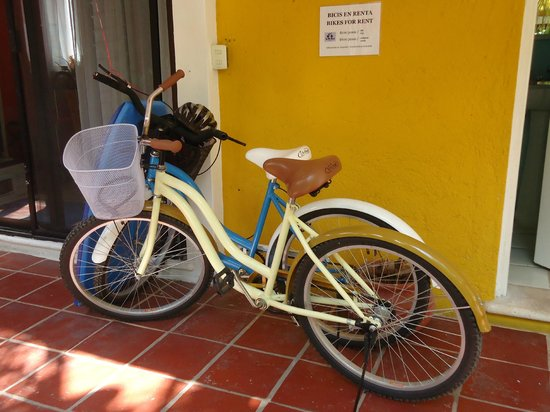 El Acuario Hotel: Bicycles for rent