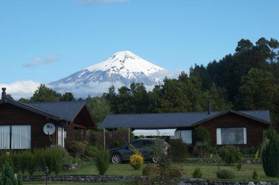 Alun Kuyen: Vista hacia el Volcán