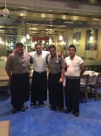 Sea Senor Seafood: the friendly staff and managment