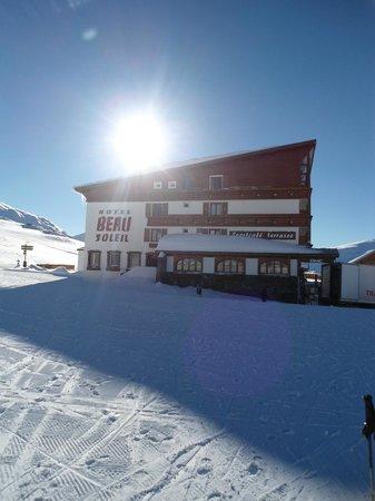 Hotel Beausoleil : Ski in Ski out