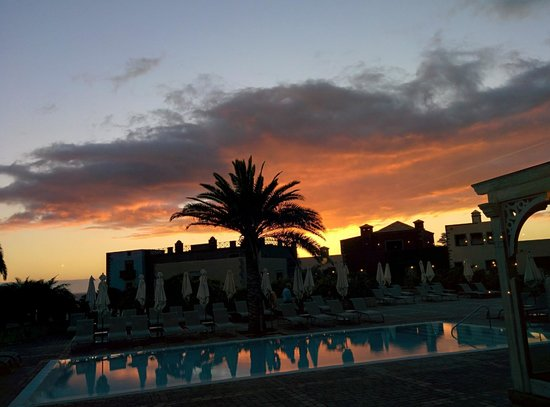 Lopesan Villa del Conde Resort & Corallium Thalasso: Blick aus dem Speisesaal