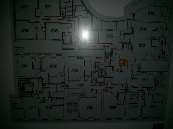 Hotel Indigo Edinburgh : Floor Plan - 2nd floor