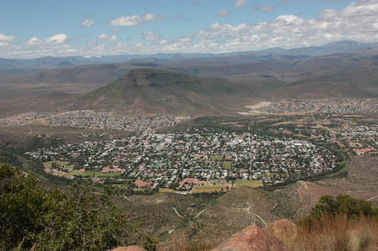 Valley of Desolation: Graaff Reinet, view from Toposcope