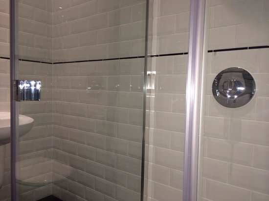 Eslington Villa: Gorgeous new bathroom. Walk in shower.
