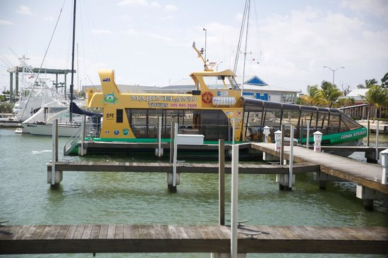 MarineLand Tours : Our ship for the stingray sandbar