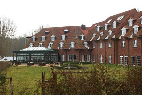 Hotel Bornmuehle: Hotel mit Wintergarten