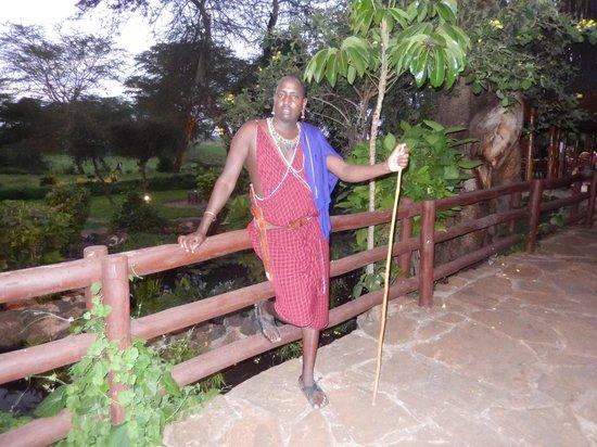Amboseli Serena Safari Lodge: Hotel Staff