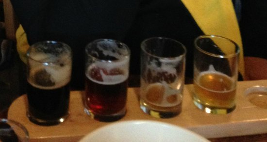 Grand Teton Brewing Company: a flight of beers to taste