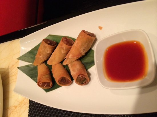 Red 8 Chinese Bistro: spring rolls