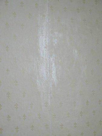 Best Western Bestwood Lodge Hotel: Bit of glue slopped onto peeling wall paper