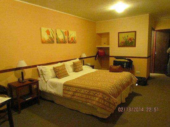 Hotel Austral: Habitación