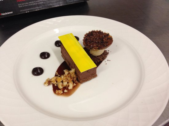 Enterkine House Hotel: Dark chocolate pave