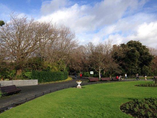Parque St Stephen's Green: Парк